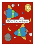 Alphabet space game