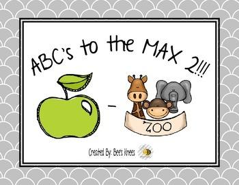 ABC's to the MAX 2!!! - No Prep!
