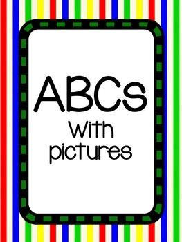 ABCs w/ pictures