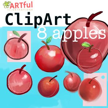 Clip Art - Apples