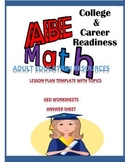College and Career Readiness ABE Math Curriculum