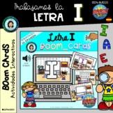 ABECEDARIO (trabajo letra I) - Boom Cards Distance Learnin