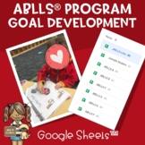 ABLLS® Program/Goal Development in Google Sheets