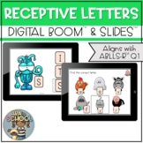 Receptive letters ABLLS Q1     BOOM CARDS