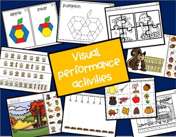 ABLLS-R ALIGNED ACTIVITIES B-Visual Performance Fall Edition