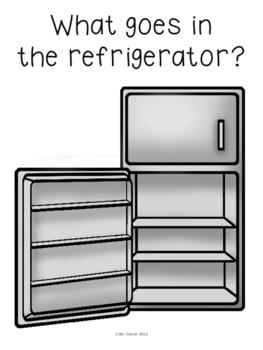ABLLS-R ALIGNED ACTIVITIES B19 Refrigerator or Freezer Sorting