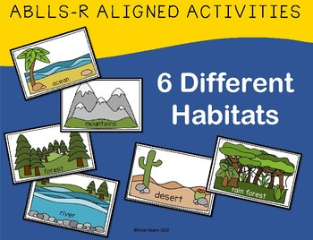 ABLLS-R ALIGNED ACTIVITIES B19 Sorting Animals by Habitat