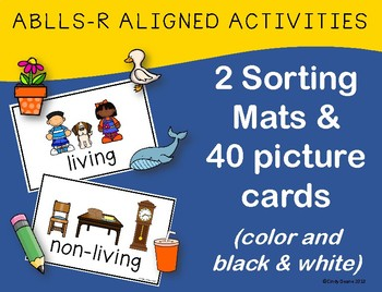 ABLLS-R  ALIGNED ACTIVITIES B19 Sorting Living and Non-living