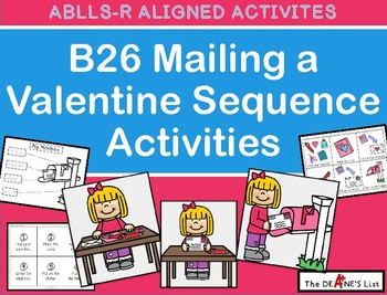 ABLLS-R  ALIGNED ACTIVITIES B26 Crossing the Street Sequence Activities