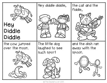 ABLLS-R ALIGNED ACTIVITIES B26 Nursery Rhyme Sequence Cards