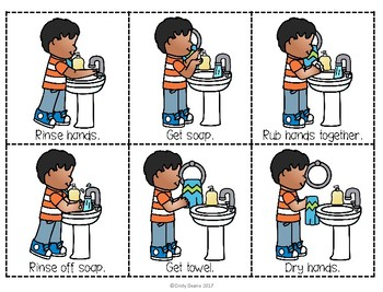 ABLLS-R  ALIGNED ACTIVITIES B26 Washing Hands Sequence Activities