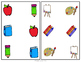 ABLLS-R  ALIGNED ACTIVITIES B5 Matching identical pictures- school theme