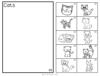 ABLLS-R  ALIGNED ACTIVITIES B8 Non-identical animal sorting