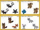 ABLLS-R ALIGNED ACTIVITIES C55 Same and Different Animal Task Cards