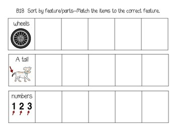 ABLLS-R ALIGNED ACTIVITIES Fun with Features
