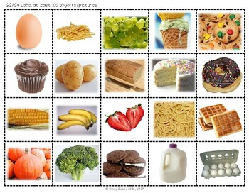 ABLLS-R ALIGNED ACTIVITIES G-Labeling Photo Version