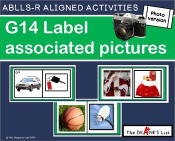 ABLLS-R ALIGNED ACTIVITIES G14 Label associated items- Pho