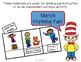 ABLLS-R ALIGNED ACTIVITIES G21 Label a noun and verb- March Rhyming Fun