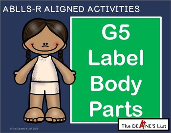ABLLS-R ALIGNED ACTIVITIES G5 Label body parts