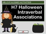 ABLLS-R ALIGNED H7 Halloween Intraverbal Associations