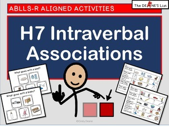 ABLLS-R ALIGNED H7 Intraverbal Associations