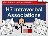 ABLLS-R ALIGNED H7 Intraverbal Associations with Symbolstix