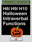 ABLLS-R ALIGNED H8/ H9/ H10 Halloween Intraverbal Functions