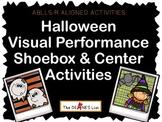 ABLLS-R ALIGNED ACTIVITIES Halloween Shoebox Activities