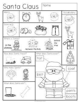 ABLLS-R ALIGNED ACTIVITIES Homework for Early Learners with Autism- December