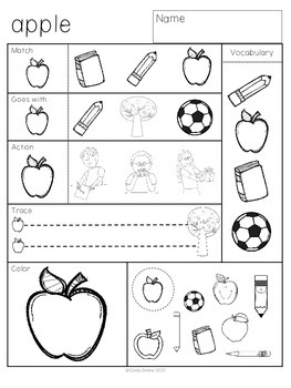 ABLLS-R ALIGNED ACTIVITIES Homework for Early Learners with Autism FREEBIE