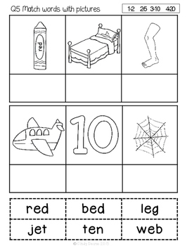 ABLLS-R ALIGNED ACTIVITIES Q5 Matching Words to Pictures