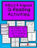 ABLLS-R ALIGNED ACTIVITIES Q- Reading Activities