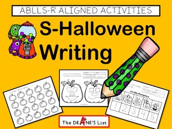 ABLLS-R ALIGNED ACTIVITIES  S-Halloween Writing