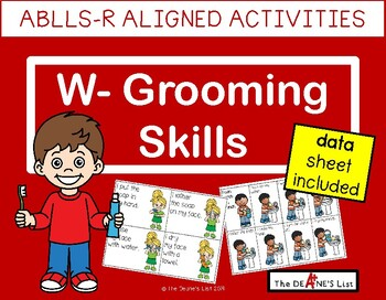 ABLLS-R ALIGNED ACTIVITIES W- Grooming Skills Bundle