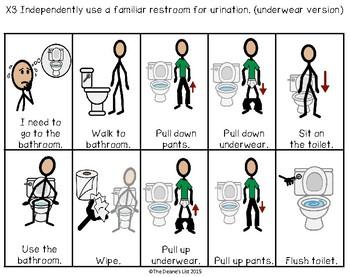 ABLLS-R ALIGNED ACTIVITIES X-Toileting (with SymbolStix)