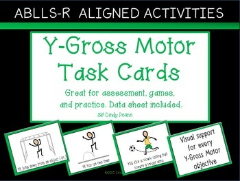 ABLLS-R ALIGNED ACTIVITIES Y-Gross Motor Task Cards