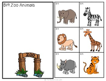 ABLLS-R ALIGNED B19 Sorting Animals by Class