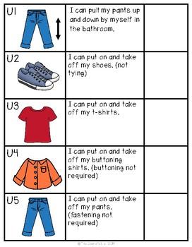 ABLLS-R ALIGNED ACTIVITIES: U- Dressing Skills