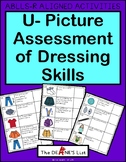 ABLLS-R ALIGNED ACTIVITIES: U- Picture Assessment of Dressing Skills