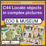 ABLLS-R ALIGNED DIGITAL PRODUCTS C44 Locate objects at a museum or zoo