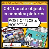 ABLLS-R ALIGNED DIGITAL PRODUCTS C44 Locate objects at a pool or vet