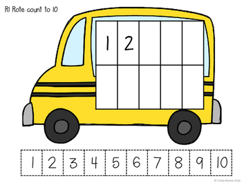 ABLLS-R ALIGNED MATH ACTIVITIES R1 Rote counting with prompts