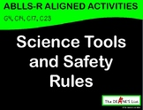 ABLLS-R ALIGNED WORKBOXES Science Tools & Safety Rules