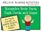 ABLLS-R ALIGNED ACTIVITIES Receptive Body Parts Task Cards and Game