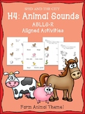 ABLLS-R Aligned H4 Animal Sounds Activities