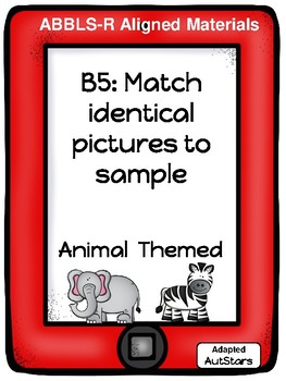 ABLLS-R Aligned Matching Activities
