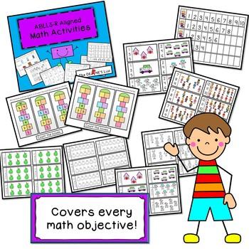 ABLLS-R ALIGNED ACTIVITIES R-Math Activities