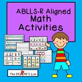 ABLLS-R ALIGNED ACTIVITIES R-Math Activities