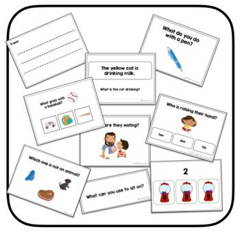 ABLLS-R Aligned Task Card MEGA BUNDLE