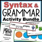 SYNTAX & GRAMMAR Skill Packet: ABLLS-R Task J Aligned